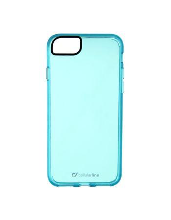 Чехол для iPhone Cellular Line для iPhone 7 голубой